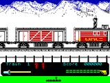 Mountie Mick's Deathride ZX Spectrum Lets save the train