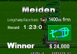Stakes Winner 2 Arcade Prize Money is $24,000