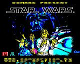 Star Wars Electron Title screen.