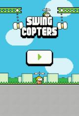 Swing Copters Browser Title screen