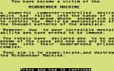 Mindbender Commodore 64 Your story so far