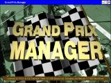 Grand Prix Manager Windows Title screen