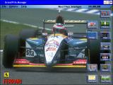 Grand Prix Manager Windows Main menu