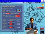 Grand Prix Manager Windows Personnel: design