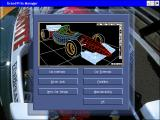 Grand Prix Manager Windows Design menu