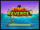 Zuma's Revenge! Zeebo Title screen.