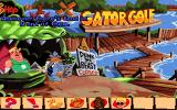 Sam & Max Hit the Road DOS Welcome to the Gator Golf! Alligators and golf - a match made in heaven!..