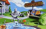 Sam & Max Hit the Road DOS Welcome to the Bumpusville - one of the game's major locations