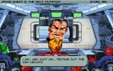 Space Quest V: The Next Mutation DOS You also perform all communications from the cockpit. Captain Quirk doesn't seem to be altogether pleased