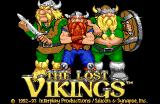 The Lost Vikings Amiga Title screen