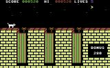 Alley Cat Commodore 64 Brooms to jump