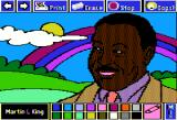 The Electric Crayon Deluxe: Seasons & Holidays Apple II Martin L. King is important figure in Afro-American movement