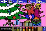 The Electric Crayon Deluxe: Seasons & Holidays Apple II Children are happy with the presents on Christmas Day (Christianity)