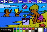 The Electric Crayon Deluxe: Seasons & Holidays Apple II Summer is often associated with swimming and relaxing on the beach