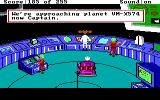 Space Quest: The Lost Chapter DOS A cutscene showing an alien ship