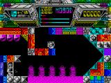 Terminus: The Prison Planet ZX Spectrum Lava worms?