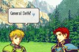 Fire Emblem: The Sacred Stones Game Boy Advance General Seth