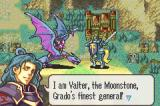 Fire Emblem: The Sacred Stones Game Boy Advance Creature remniscent of Lord of the Rings