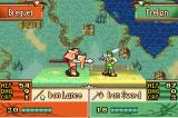 Fire Emblem: The Sacred Stones Game Boy Advance Lance vs. sword