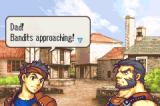 Fire Emblem: The Sacred Stones Game Boy Advance Small village is attacking