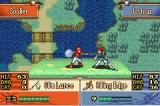 Fire Emblem: The Sacred Stones Game Boy Advance Joshua has a great abilities... but lance in torso is a problem