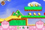 Yoshi Topsy-Turvy Game Boy Advance Rolled out the bridge
