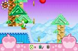 Yoshi Topsy-Turvy Game Boy Advance Apple up there to collect