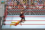 WWE Road to Wrestlemania X8 Game Boy Advance Stomping on his head