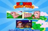 Worms World Party Game Boy Advance Select a game