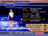 All Star Tennis 2000 PlayStation Barbara Schett!