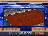 "All Star Tennis 2000 PlayStation ""Roland Garros""?"