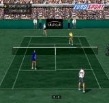 All Star Tennis 2000 PlayStation Is this synthetic hard court? It seems so.