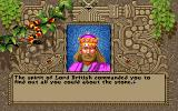 Worlds of Ultima: The Savage Empire DOS Lord British tells you to analyze the stone. Hey, why don't you do it yourself if you are so smart?..