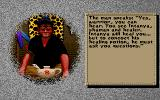 Worlds of Ultima: The Savage Empire DOS Character generation is done by a shaman this time!