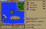Worlds of Ultima: The Savage Empire DOS I got four paddles, gave them to my companions, and we begin our journey on a raft! And look whom we found!..