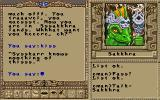 Worlds of Ultima: The Savage Empire DOS You'll meet the Sakkhra - an intelligent reptile species