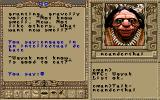 Worlds of Ultima: The Savage Empire DOS Funny conversation with a Neanderthal!..