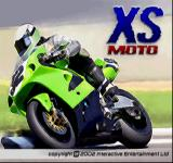 XS Moto PlayStation Title screen.