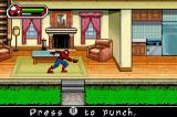Ultimate Spider-Man Game Boy Advance Searching a house