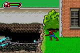 Ultimate Spider-Man Game Boy Advance Careful of the electricity