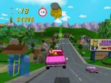 The Simpsons: Road Rage GameCube Evergreen Terrace