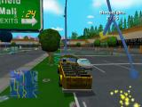 The Simpsons: Road Rage GameCube The convertible school bus looks lame.