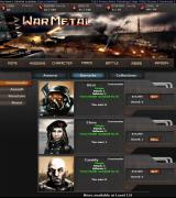 War Metal Browser Barracks, Commander - New commanders may be purchased with cash.