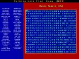 Computer Puzzles Unlimited DOS Puzzle 10: Curving Word Find