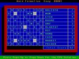 Computer Puzzles Unlimited DOS Puzzle 27: Word Formation