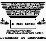 Torpedo Range Game Boy Title screen