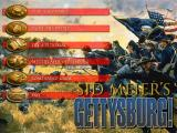 Sid Meier's Gettysburg! Windows Union Start Screen