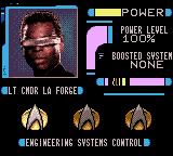 Star Trek: The Next Generation Game Gear Lt. Commander La Forge - engineering systems