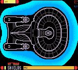 Star Trek: The Next Generation Game Gear Raising shields