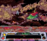 Super Dropzone: Intergalactic Rescue Mission SNES Too bad I'll have to exterminate these beautiful wings.